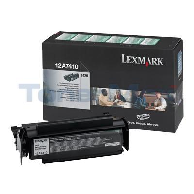LEXMARK T420 TONER CARTRIDGE BLACK RP 5K